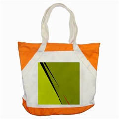 Yellow elegant design Accent Tote Bag