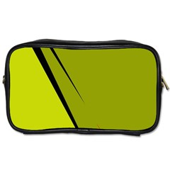 Yellow elegant design Toiletries Bags 2-Side