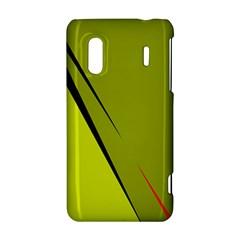 Yellow elegant design HTC Evo Design 4G/ Hero S Hardshell Case