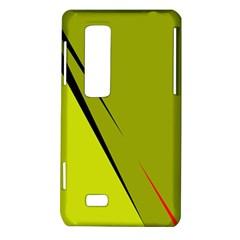 Yellow elegant design LG Optimus Thrill 4G P925