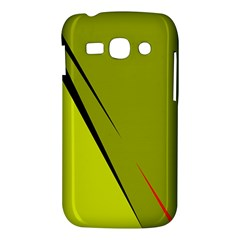Yellow elegant design Samsung Galaxy Ace 3 S7272 Hardshell Case