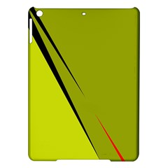 Yellow elegant design iPad Air Hardshell Cases