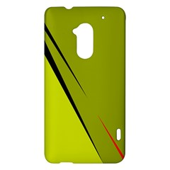 Yellow elegant design HTC One Max (T6) Hardshell Case