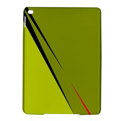 Yellow elegant design iPad Air 2 Hardshell Cases