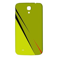 Yellow elegant design Samsung Galaxy Mega I9200 Hardshell Back Case