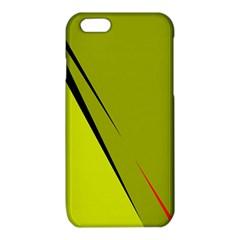 Yellow elegant design iPhone 6/6S TPU Case