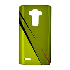 Yellow elegant design LG G4 Hardshell Case
