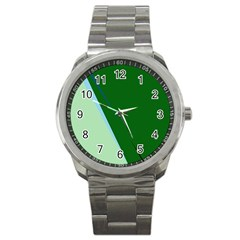 Green design Sport Metal Watch
