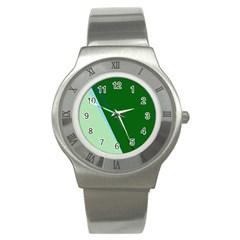 Green design Stainless Steel Watch