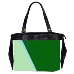 Green design Office Handbags (2 Sides)