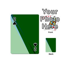 Green design Playing Cards 54 (Mini)