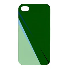 Green design Apple iPhone 4/4S Hardshell Case