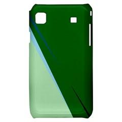 Green design Samsung Galaxy S i9000 Hardshell Case