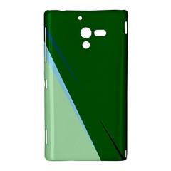 Green design Sony Xperia ZL (L35H)