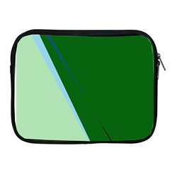 Green design Apple iPad 2/3/4 Zipper Cases