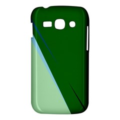 Green design Samsung Galaxy Ace 3 S7272 Hardshell Case