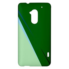 Green design HTC One Max (T6) Hardshell Case