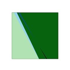 Green design Satin Bandana Scarf