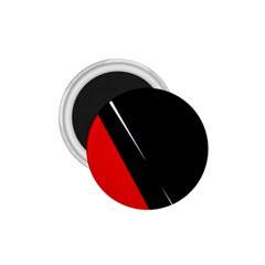 Black and red design 1.75  Magnets