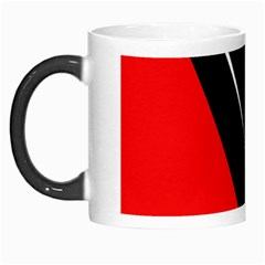 Black and red design Morph Mugs
