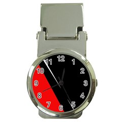 Black and red design Money Clip Watches