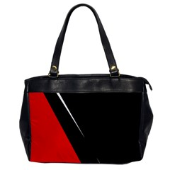 Black and red design Office Handbags