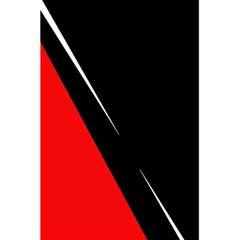 Black and red design 5.5  x 8.5  Notebooks