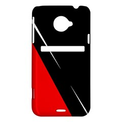 Black and red design HTC Evo 4G LTE Hardshell Case