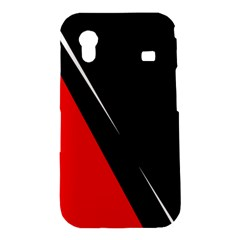 Black and red design Samsung Galaxy Ace S5830 Hardshell Case