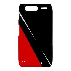 Black and red design Motorola Droid Razr XT912