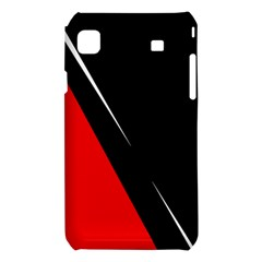 Black and red design Samsung Galaxy S i9008 Hardshell Case