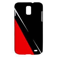 Black and red design Samsung Galaxy S II Skyrocket Hardshell Case