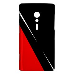 Black and red design Sony Xperia ion
