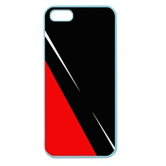 Black and red design Apple Seamless iPhone 5 Case (Color)