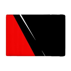 Black and red design Apple iPad Mini Flip Case