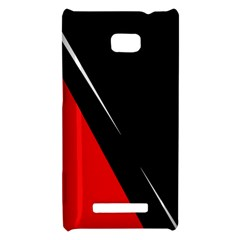 Black and red design HTC 8X