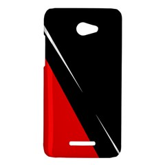 Black and red design HTC Butterfly X920E Hardshell Case