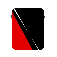 Black and red design Apple iPad 2/3/4 Protective Soft Cases