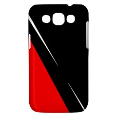 Black and red design Samsung Galaxy Win I8550 Hardshell Case
