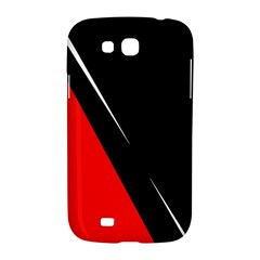 Black and red design Samsung Galaxy Grand GT-I9128 Hardshell Case