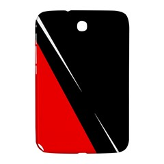 Black and red design Samsung Galaxy Note 8.0 N5100 Hardshell Case