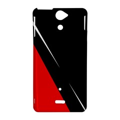 Black and red design Sony Xperia V