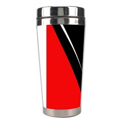 Black and red design Stainless Steel Travel Tumblers