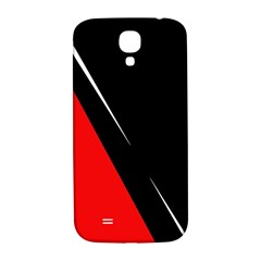 Black and red design Samsung Galaxy S4 I9500/I9505  Hardshell Back Case