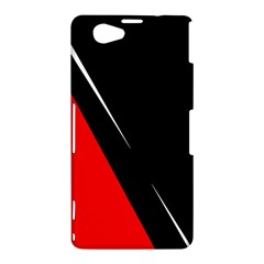 Black and red design Sony Xperia Z1 Compact