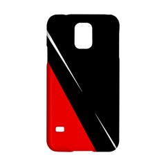 Black and red design Samsung Galaxy S5 Hardshell Case