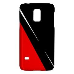Black and red design Galaxy S5 Mini