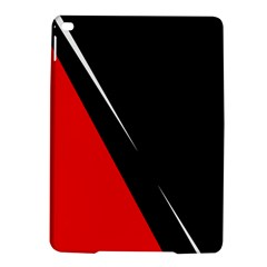 Black and red design iPad Air 2 Hardshell Cases