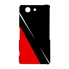 Black and red design Sony Xperia Z3 Compact