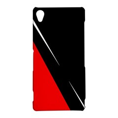 Black and red design Sony Xperia Z3